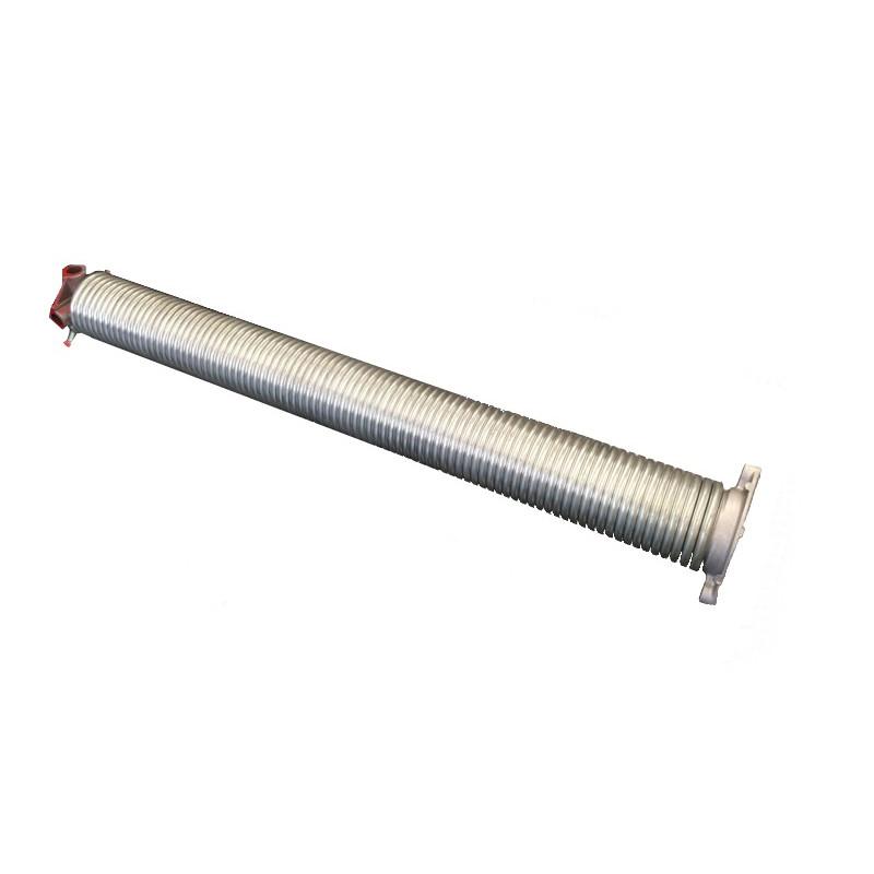 molla a torsione assemblata per porta sezionale diametro interno 50 mm, filo 6 mm