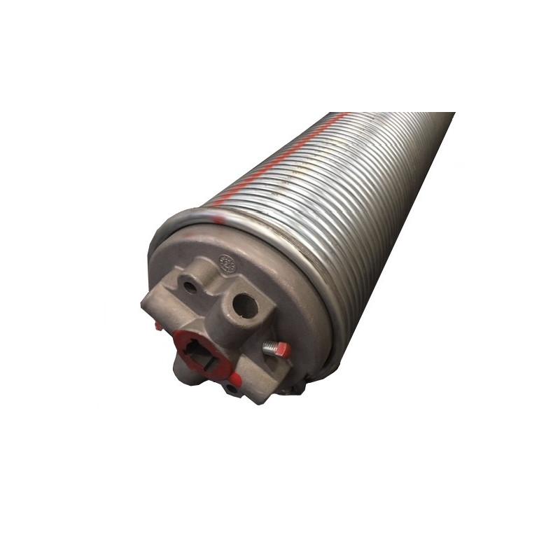 molla a torsione assemblata per porta sezionale diametro interno 152 mm, filo 9 mm
